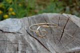 Gold Forged Bracelet