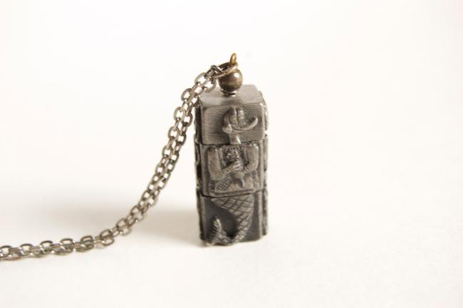 vintage kinetic necklace