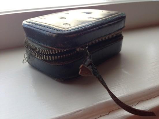 vintage peal brooch